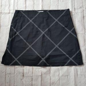 IZOD Golf Athletic Stretch Dot Skirt Skort